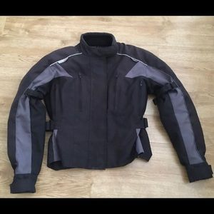 Motorcycle Jacket with Armour For Women